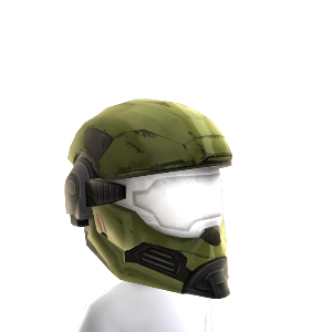 Hazop Helmet- Green 