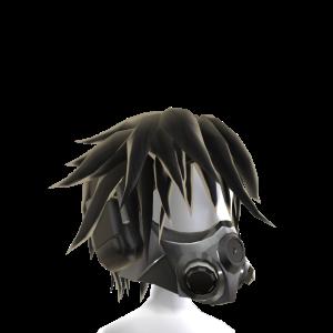 Anime Gas Mask - Black