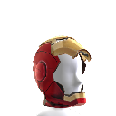 Casco abierto de Iron Man Mark VII