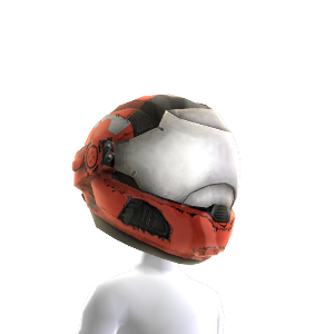 Security Helmet- Red