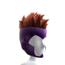 Purple Hero Mask