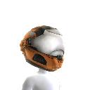 Security Helmet- Orange