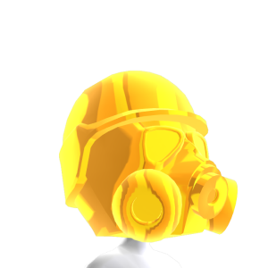Epic Brite Gold Gas Mask 2