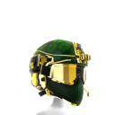 Elite Ops Helmet - St. Patty's Gold