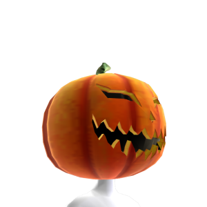 Dark Pumpkin Head