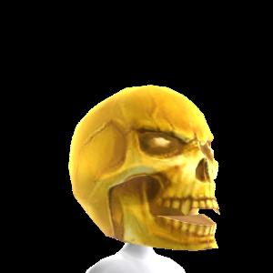Horror Gold Skull Head