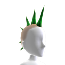 Spiked Mohawk - Green