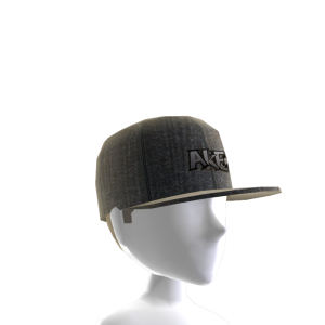 Tilted Hat - Black