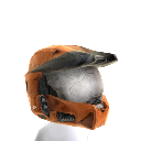 Mjolnir Mark VI Helmet- Orange