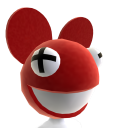 deadmau5 Head - Red
