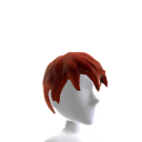 Styled Hair - Red