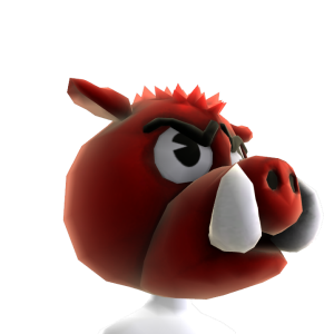 Arkansas Mascot Head