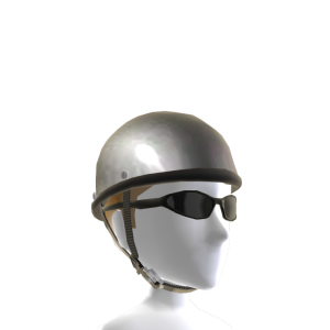 Chrome Skull Cap