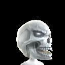 Horror Silver Skull Head