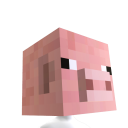 Minecraft Pig Head 