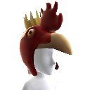 Chicken Headpiece 