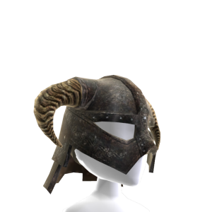 Skyrim Iron Helm  