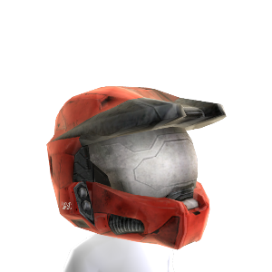 Mjolnir Mark VI Helmet- Red