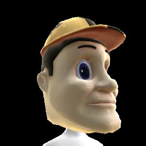 Purdue Mascot Head