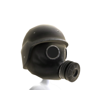 Gas Mask Black 3