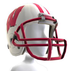 Wisconsin Football Helmet