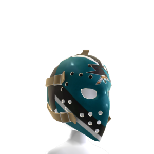 San Jose Sharks Vintage Mask