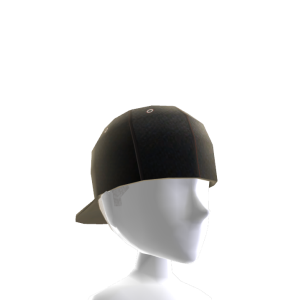 Backwards Baseball Cap - Black