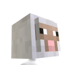 Cabeza de oveja de Minecraft