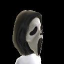 Maske mit Geistgesicht