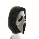 Máscara de cara de fantasma