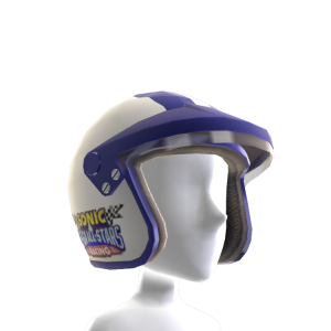 Casque Racing (Blanc)