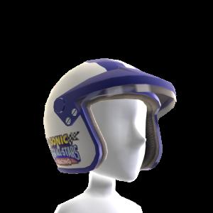 Racing-Helm (Weiß)