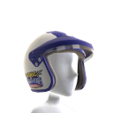 Casco Racing (Blanco)