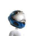 Security Helmet- Blue