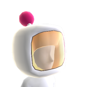 Casco Bomber Bianco