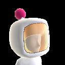 White Bomber Helmet