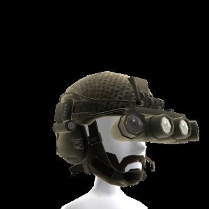 Green Helmet Beard