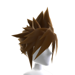 Anime Hero Hair - Brown