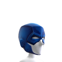 Blue Knight Cowl
