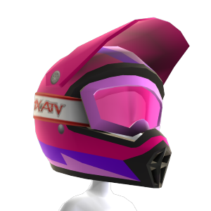 Rainbow Helmet Pink