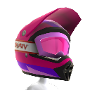 Casque Rainbow rose
