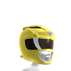 Mighty Morphin Yellow Ranger Helmet