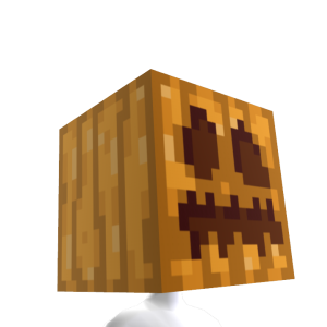 Minecraft Pumpkin Head