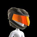 Casco de motocicleta de Oblio