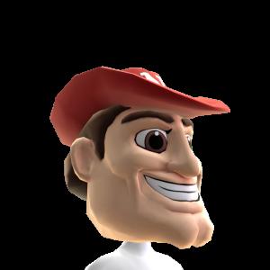 Nebraska Mascot Head