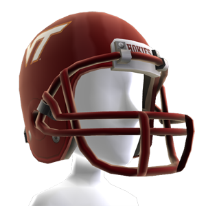 Virginia Tech Football Helmet
