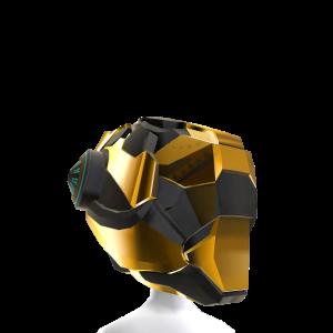 Fantasy Helmet - Gold