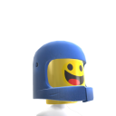 LEGO Benny Minifigure Old Helmet