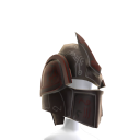 Dark Platemail Armour Helmet
