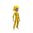 Anime Hero Suit Gold Camo 2